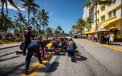 VIDEO: Verstappen and Pérez share thoughts on new Miami GP in 2022