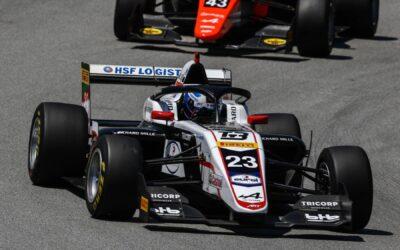 Sterk debuut Thomas ten Brinke in Formula Regional European Championship