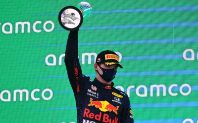 """Max Verstappen tweede in GP van Spanje: """"Er was niet meer wat we konden doen"""""""