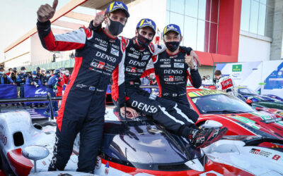 Toyota GAZOO Racing grijpt overwinning in 100e WEC-race