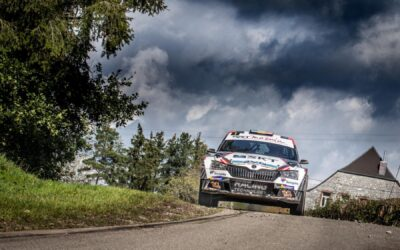 Het Kroon-Oil BRC start definitief in de South Belgian Rally