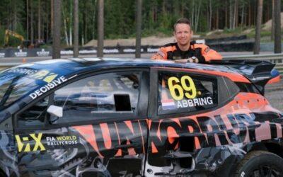 Dutch driver Kevin Abbring to race first full FIA World Rallycross Championship season