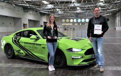 Essen Motor Show gewinnt zum sechsten Mal den THEO-Award