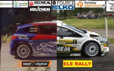 1e Virtuele ELE Rally een groot succes