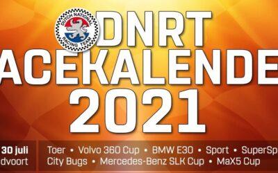 Vrijdag 30 juli DNRT Zandvoort & Inschrijving is geopend