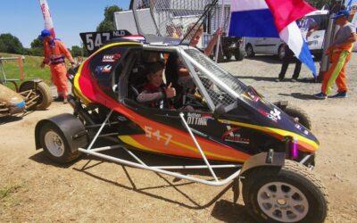 Sterke start Nathan Ottink in openingsronde FIA Cross Car Academy Trophy