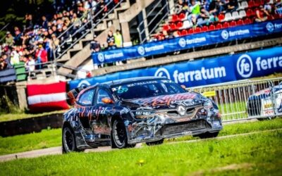 The fight is on for Abbring at World RX Latvia