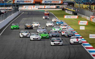 Slipstream sleutel tot succes bij Mazda MX-5 Cuptijdens DTM weekend